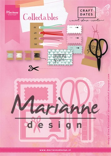 Collectables Marianne Design - Eline`s Craft Dates