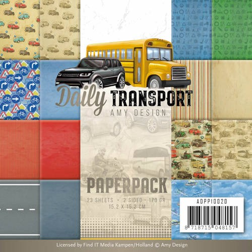 Paper Pad Amy Design - Daily Transport