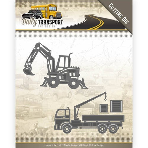 Amy Design Stans - Daily Transport - construction vehicles