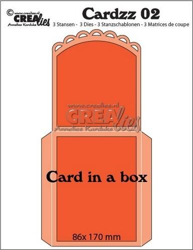 Crealies Stans - Cardzz 02 - Card in a Box
