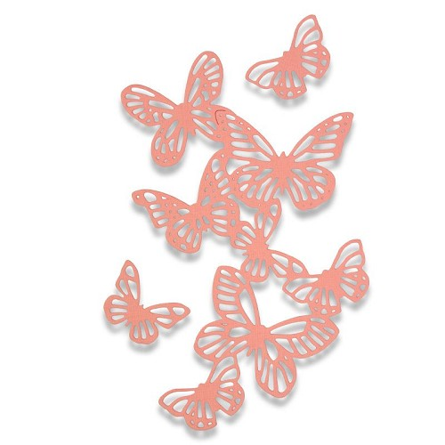 Sizzix Thinlits - Butterflies