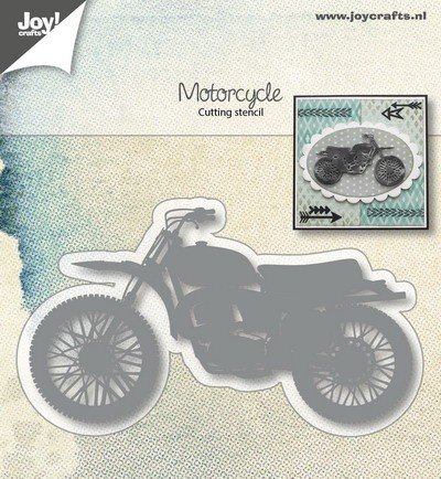 Joy Stencil - motorcycle