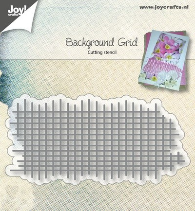 Joy Stencil - background grid