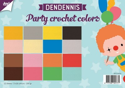 Joy Paper Pack - Dendennis Party - crochet colors