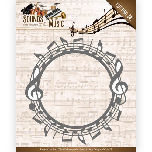 Amy Design Stans - Sounds of Music - Music Frame