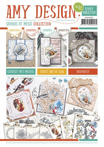 Amy Design Hobby Magazine - Sounds of Music Collection