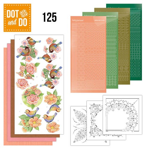 Dot & Do Hobbydots Pakket - birds