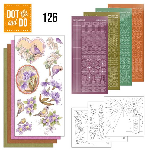 Dot & Do Hobbydots Pakket - vintage flowers
