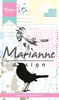 Marianne Design Cling Stamps - Tiny`s Birds 2