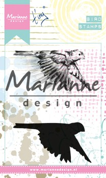 Marianne Design Cling Stamps - Tiny`s Birds 1