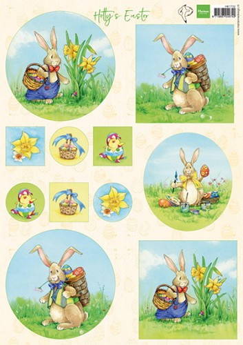 Knipvel Marianne Design - Hetty`s Easter