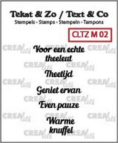 Crealies Clearstamps - Tekst & Zo 130505/2402