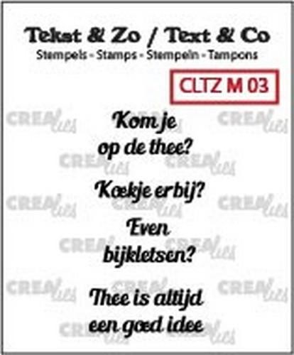 Crealies Clearstamps - Tekst & Zo 130505/2403