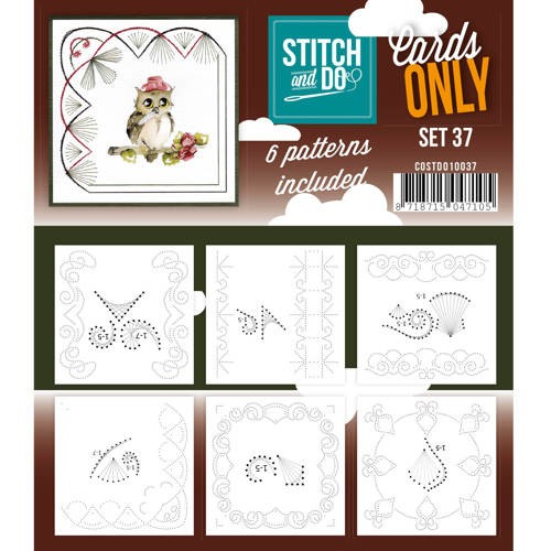Stitch and Do Cards Only - set 37