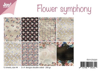 Joy Paper Pack - Flower Symphony