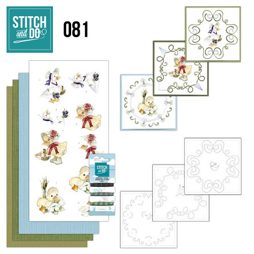Stitch and Do Pakket - voorjaarsdieren