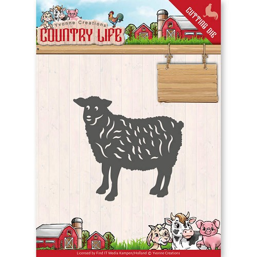 Yvonne Creations Stans - Country Life - sheep