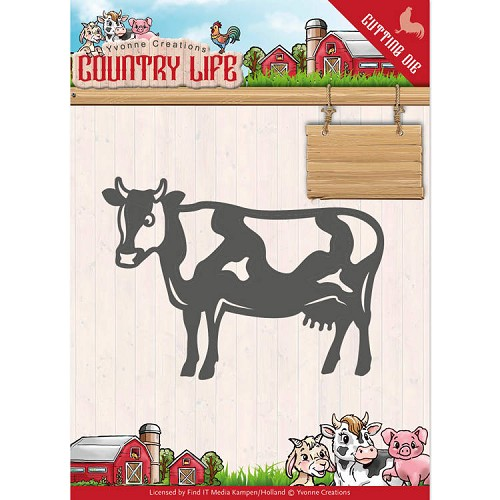 Yvonne Creations Stans - Country Life - cow