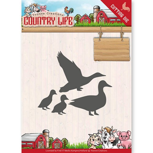 Yvonne Creations Stans - Country Life - ducks
