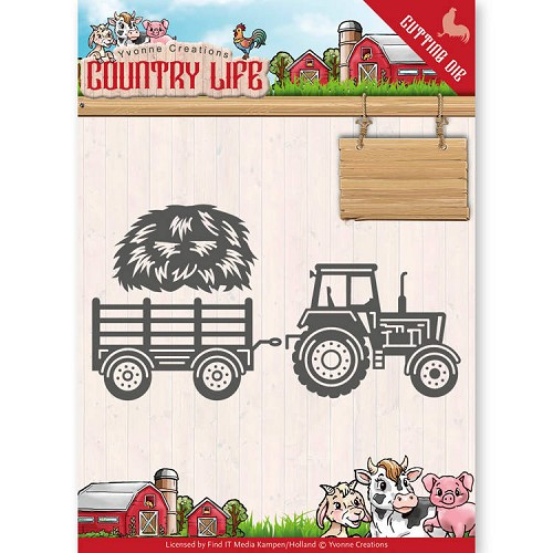 Yvonne Creations Stans - Country Life - tractor