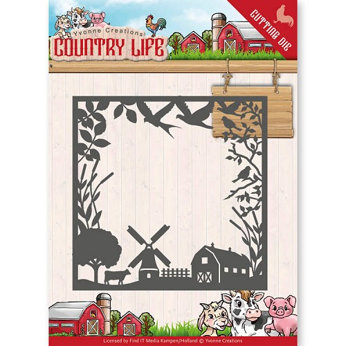 Yvonne Creations Stans - Country Life - frame