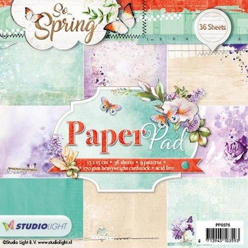 Paper Pad Studio Light - So Spring 76