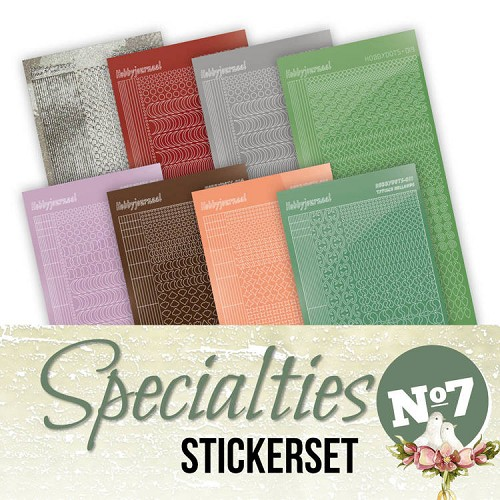 Stickerset bij Specialties No. 7