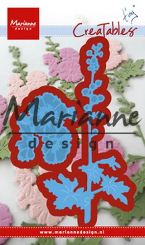 Creatables Marianne Design - Tiny`s hollyhocks