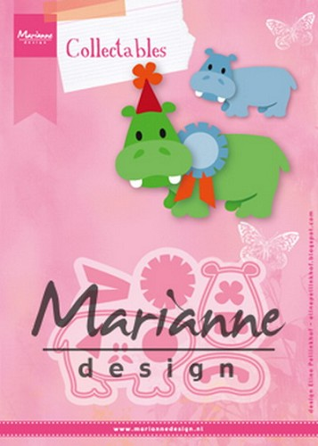 Collectables Marianne Design - Eline`s Happy Hippo