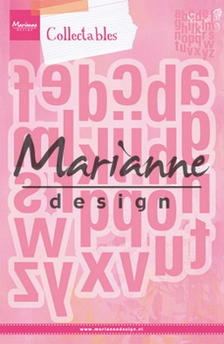 Collectables Marianne Design - alfabet XXL