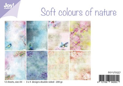 Joy Paper Pack - Soft Colours of Nature