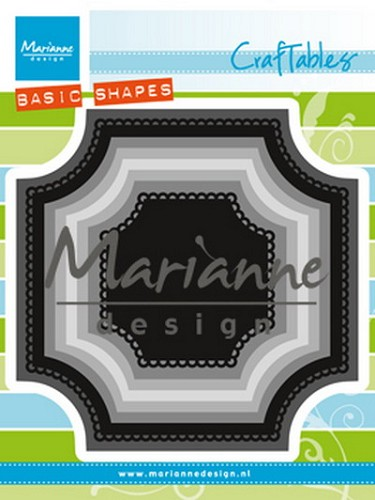 Craftables Marianne Design - basic vierkant