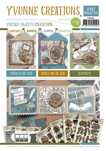 Yvonne Creations Hobby Magazine - Vintage Objects