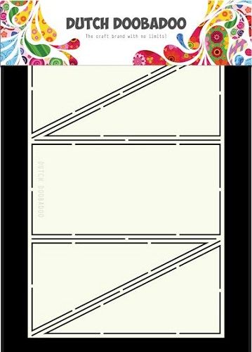 Dutch Doobadoo Card Art - diagonal fold A5