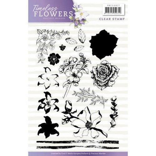 Clearstamps Precious Marieke - Timeless Flowers