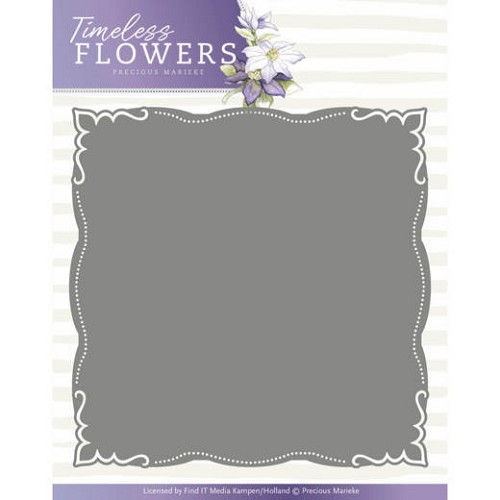 Precious Marieke Stans - Timeless Flowers - frame layered dies