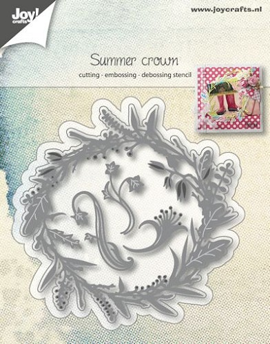 Joy Stencil - summer crown