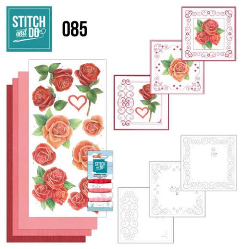 Stitch and Do Pakket - roses