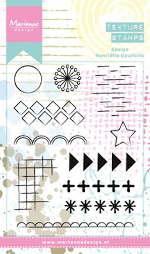 Clearstamps Marianne Design - Henriettes elements