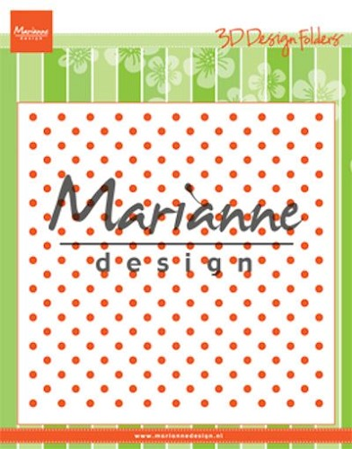Embossing Folder Marianne Design - dots