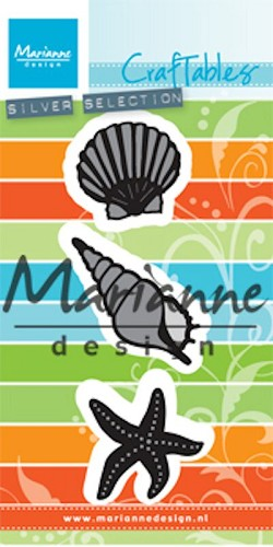 Craftables Marianne Design - schelpen
