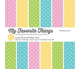 My Favorite Things Paper Pad - Lucky Prints
