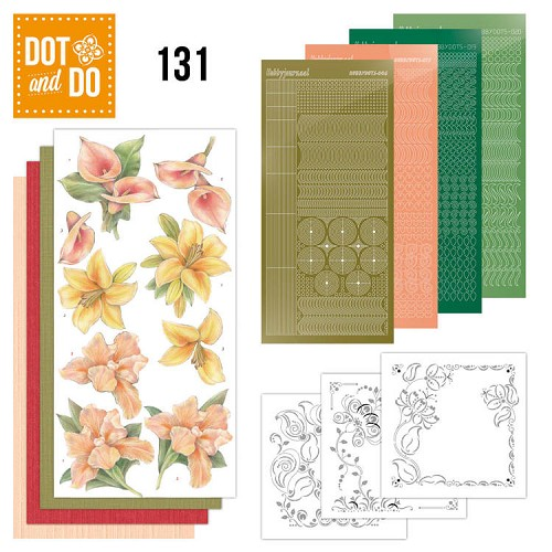 Dot & Do Hobbydots Pakket - yellow flowers