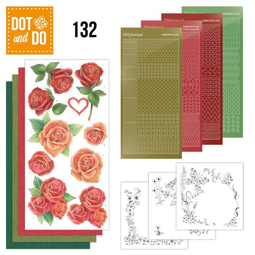 Dot & Do Hobbydots Pakket - roses