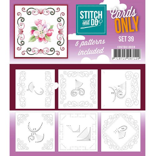 Stitch and Do Cards Only - set 39