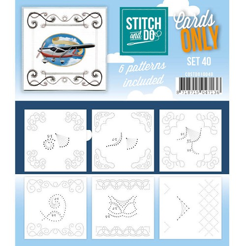 Stitch and Do Cards Only - set 40