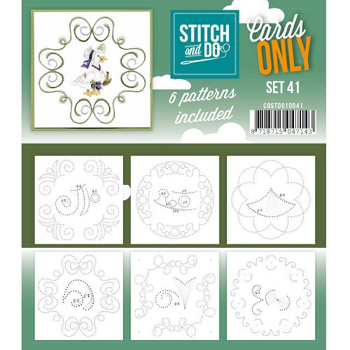 Stitch and Do Cards Only - set 41