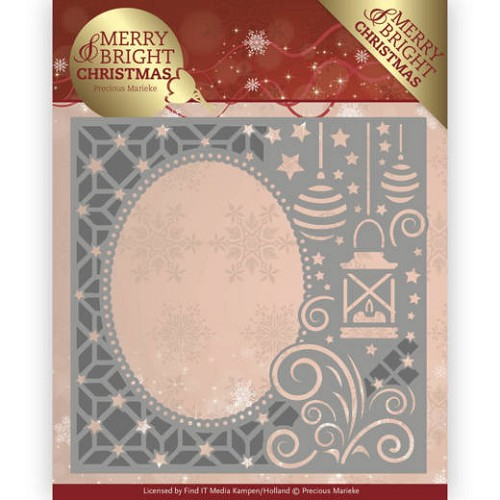 Precious Marieke Stans - Merry and Bright Christmas - lantern frame