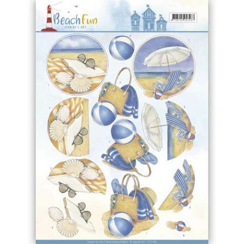Knipvel Jeanine`s Art - Beach Fun CD11069