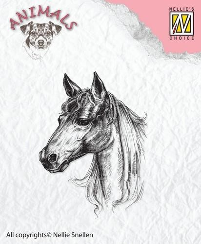 Clearstamp Nellie Snellen - Animals - horse